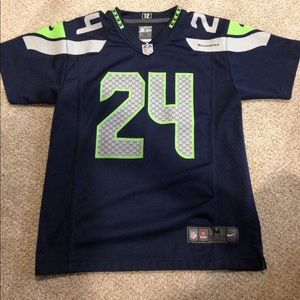 Marshawn Lynch Seattle Seahawks jersey size medium